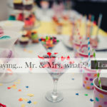 Absolutely! Mr. & Mrs. Wedding Showers